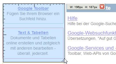 Firefox Add-on: MeasureIt