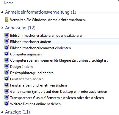 Alle Windows Einstellungen