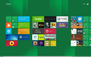 Windows8 Desktop Metro UI