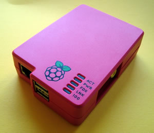Das Raspberry Pi Gehäuse