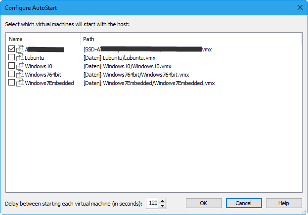 Verbindung VMware zu ESXi