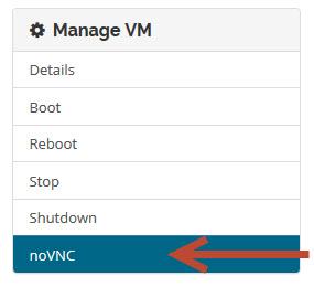 Manage VM