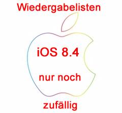 iOS 8.4 Wiedergabelisten